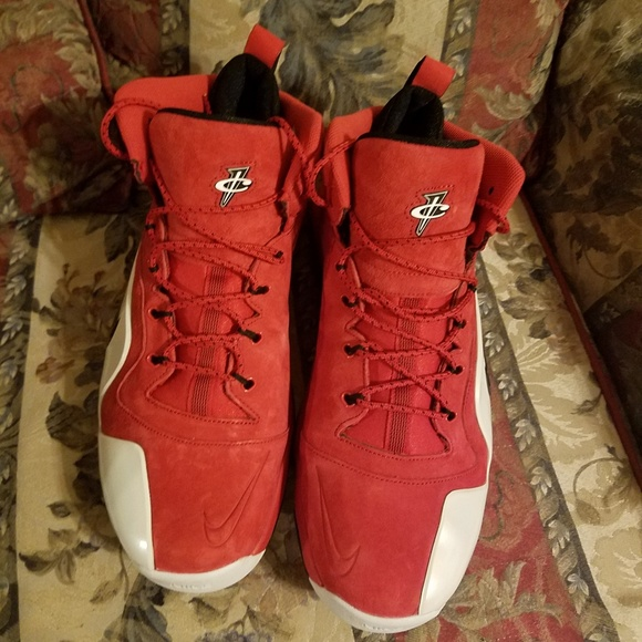 "quality design c119d cd5f2 Nike Air Penny 6 ""Red Suede"""